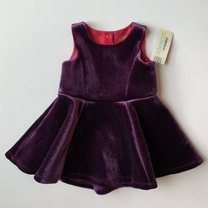 Genuine Kids Baby Girl Velvet Dress